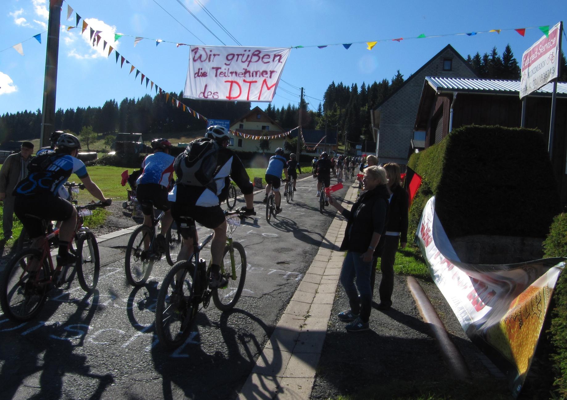 Carlsfeld beim Drei-Talsperren-Marathon