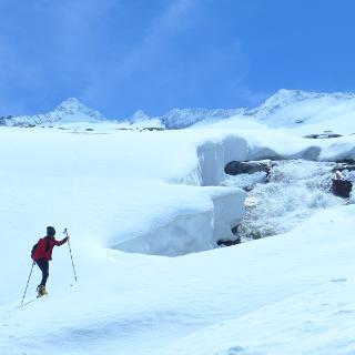 Winterweg Oberer Keesboden
