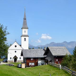 Wallfahrtskirche u. Alpengasthof Marterle