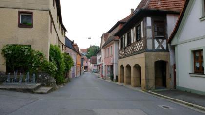 In der Unterstadt von Burgkunstadt