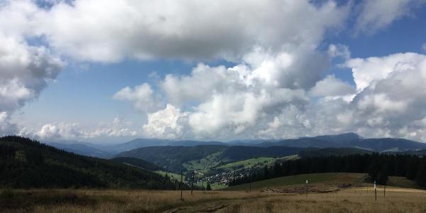 Blick auf Todtnau-Berg