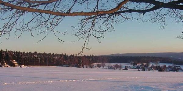 Winterlandschaft Oberjugel