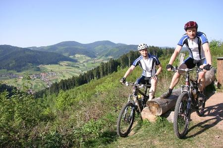 Mountainbiken im Gastlichen Kinzigtal