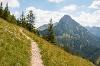 Wanderweg Westanstieg Breitenberg - @ Autor: Julian Knacker - © Quelle: Pfronten Tourismus