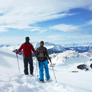 Hochebene Dreibündenstein mit Blick Richtung Feldis und Bündner Oberland