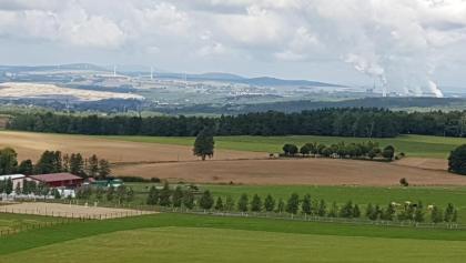 Ausblick von der Aussichtswarte Hermanice