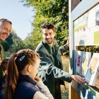 Mit der Familie den Walderlebnispfad Ummanz entdecken