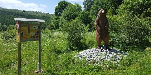 """Bienotel in der Nähe dem Aussichtpunkt """"Hoher Kleef"""""""