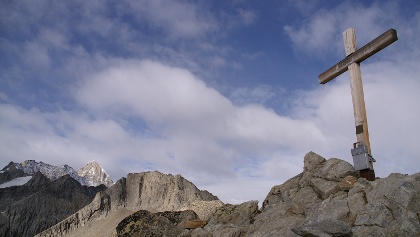 Auf dem Gipfel des Sparrhorn.