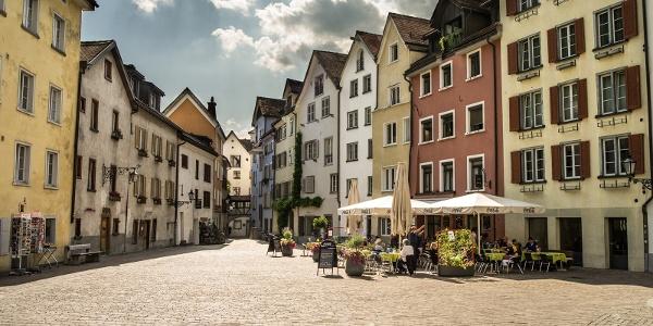 Arcas Platz in der Altstadt