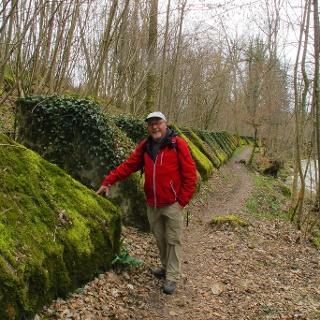 Auf dem «Sentier des Toblerones».