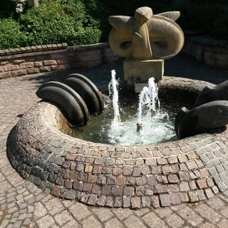Aalbrunnen (Dorfbrunnen) am Dorfplatz