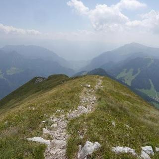 Weitblick in das Tal