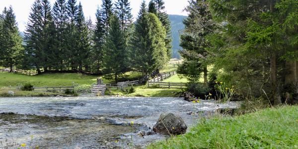 Weg von Mallnitz zum Stappitzersee