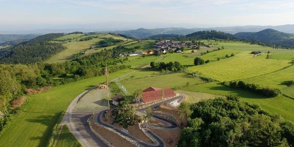 barrierefreie Aussichtsplattform Braunegg