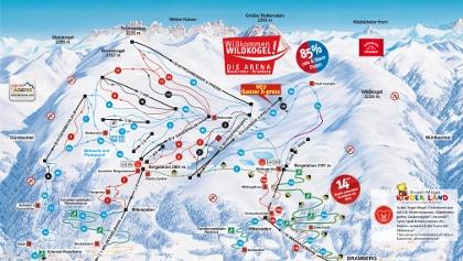 Winterpanorama Wildkogel-Arena
