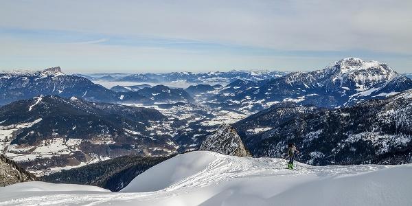 Skitour Hochalm Aufstieg