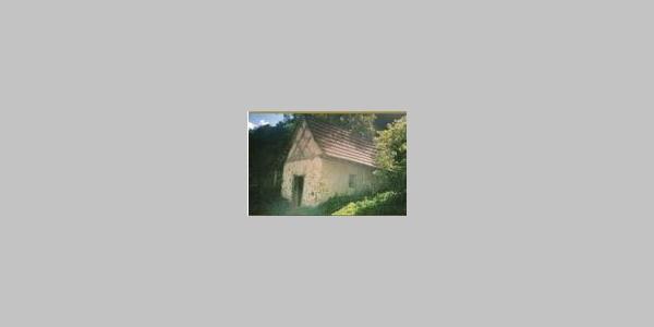 Backhaus in der Ziegelhütte (Besinnungsweg Tafel 7)