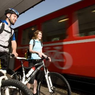 Startpunkt: Bahnhof Chur (Arosabahn)