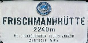 Frischmannhütte Logo