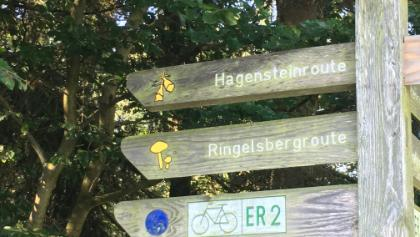 Startpunkt am Wanderparkplatz Himmelsbreite