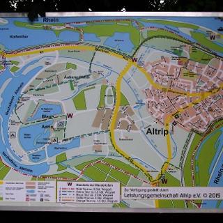 Karte zur Altriper