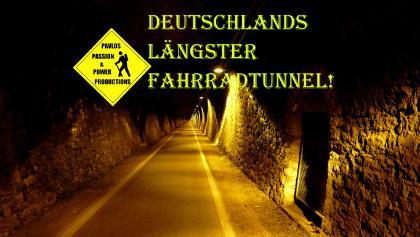 Der 1.172 m lange Milseburgtunnel
