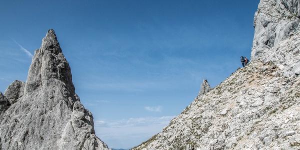 Felsformation unterhalb der Mayrbergscharte
