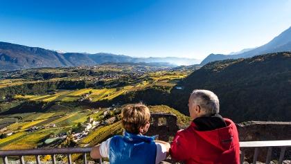 Weinwandern in Südtirols Süden