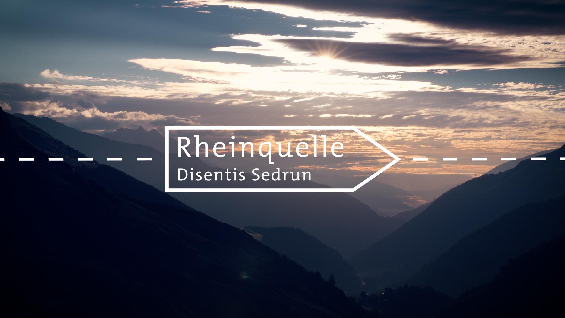 Die schönsten Wanderungen in Graubünden: Rheinquelle (Disentis Sedrun)