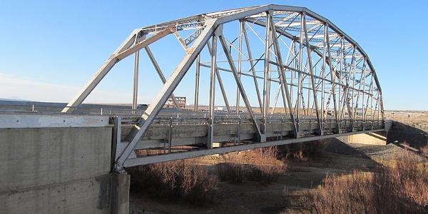 Old Rio Puerco Bridge in Bernalillo County