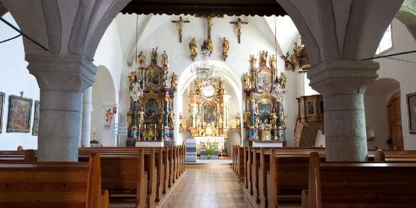 In der Jakobskirche Geistthal