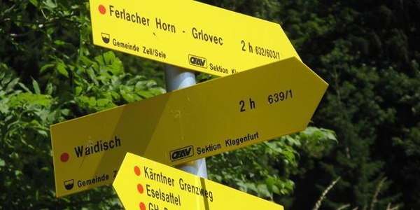 Weggabelung Franzbauer