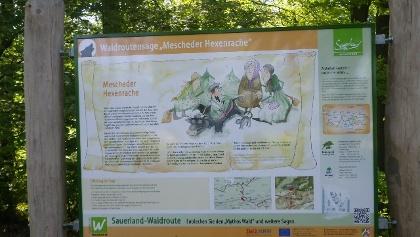 Sagentafel Eversberg