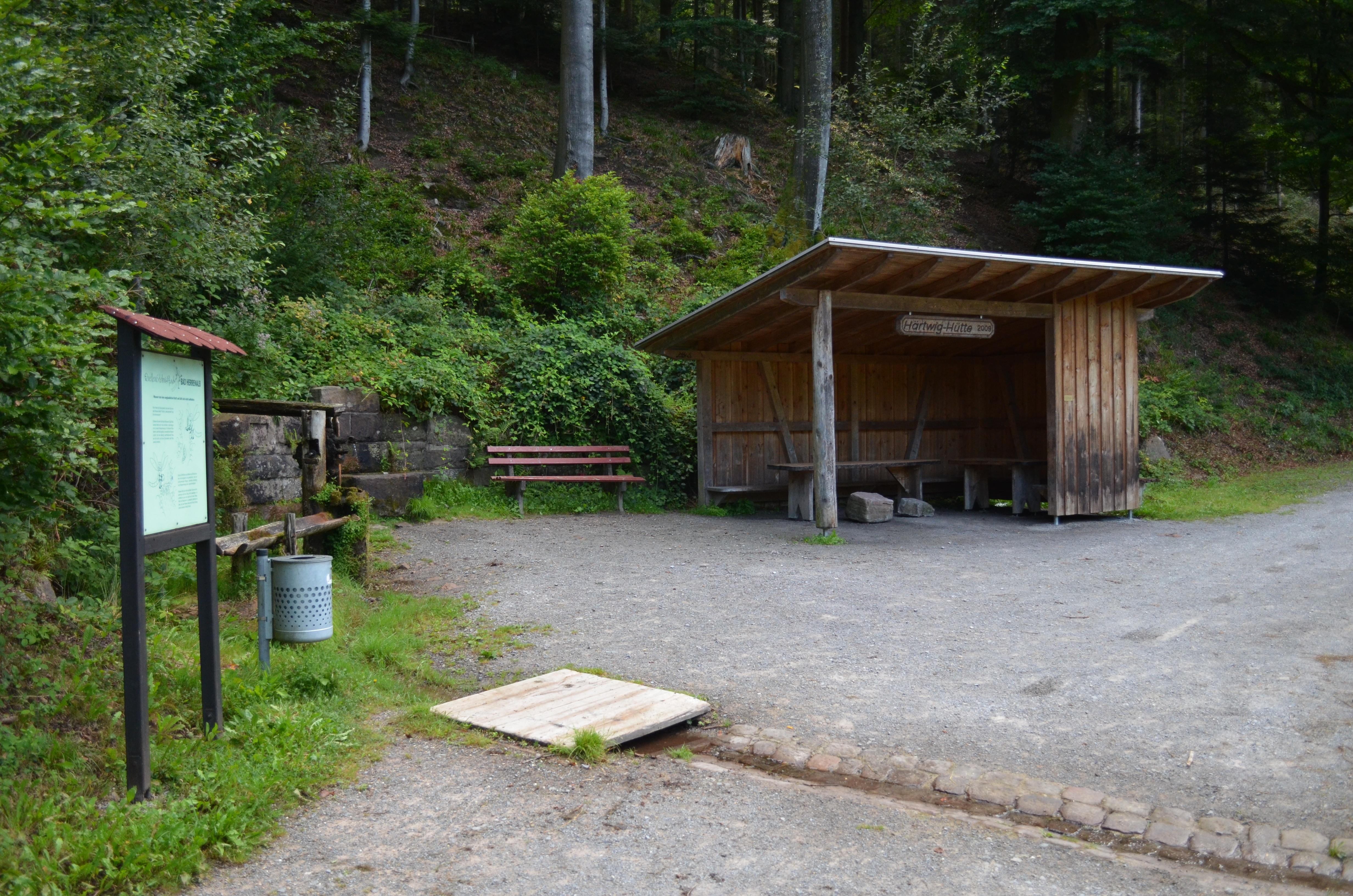Hartwig Hütte am Quellenerlebnispfad
