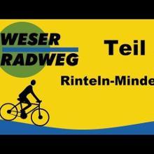 Radtour🚲🚲Weser-Radweg von Rinteln bis Minden 47 km