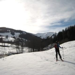 Ausgangspunkt mit Blick auf die Marbachhöhe