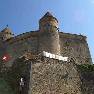 Schloss Grandson.
