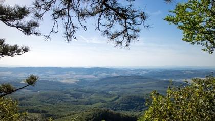 The view from Ágasvár