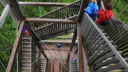 234 Stufen führen rauf – und auch wieder runter.