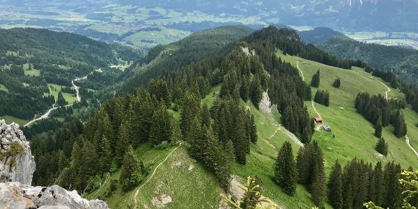Blick vom Besler bei Obermaiselstein