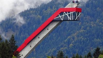 Skiflugschanze Oberstdorf - Ob dieses neue Design wirklich die beste Lösung war? Ich finde es schlimm!