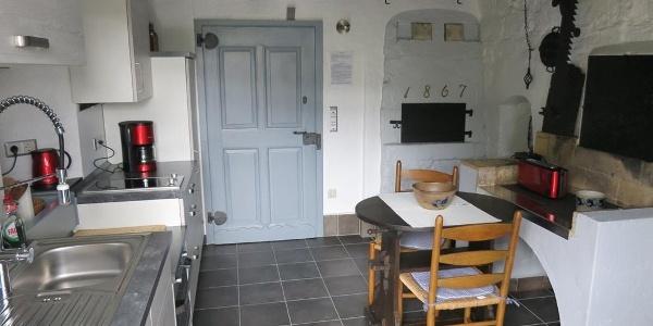 Küche mit Essbereich - Fewo Bauernstube
