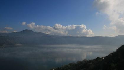 Still among Italy's hidden gems: Lago Albano.