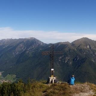 Panorama auf der Cimo Corno, nach Norden