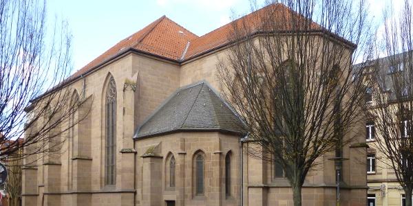 Südostansicht der St. Nikolai-Kirche