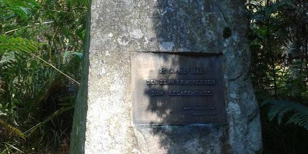 Gedenktafel am Rombachhof