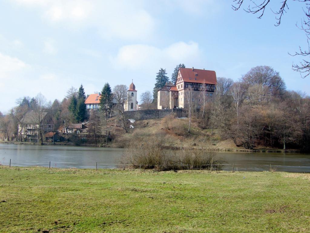 Jugendherberge Schloss Rechenberg   - © Quelle: Hohenlohe + Schwäbisch Hall Tourismus e.V.
