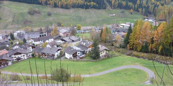 Blick auf Steinhaus - Vista su Cadipietra