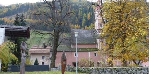 Kirche in Steinhaus -  Chiesa in Cadipietra